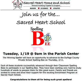 School Wide Spelling Bee