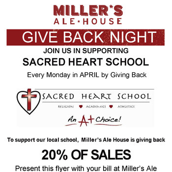 Benefit Night - Every Monday in April!