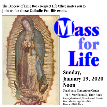 Mass for Life-Little Rock