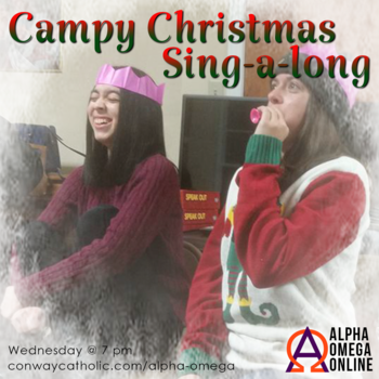 ALPHA OMEGA-Campy Christmas Sing-a-long