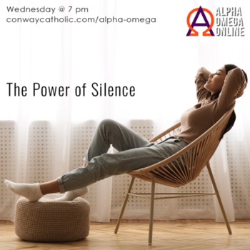 ALPHA OMEGA-The power of silence