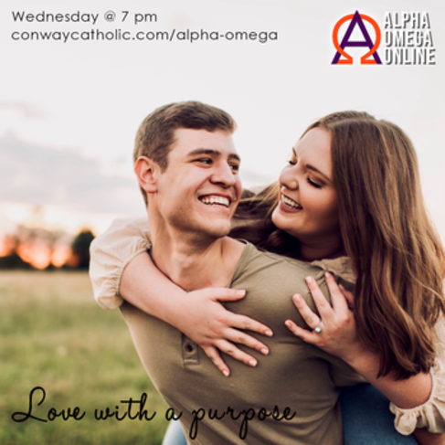 ALPHA OMEGA-Love with a purpose
