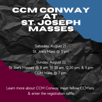 CCM Conway at ALL St Joseph Masses