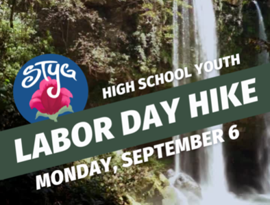 High School - Labor Day Hike with Jamie