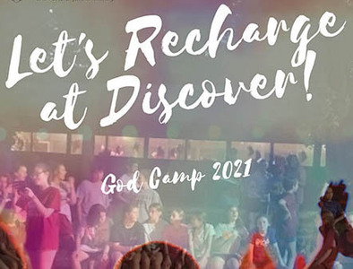 Summer God Camps (Upcoming 5th - 8th Graders)