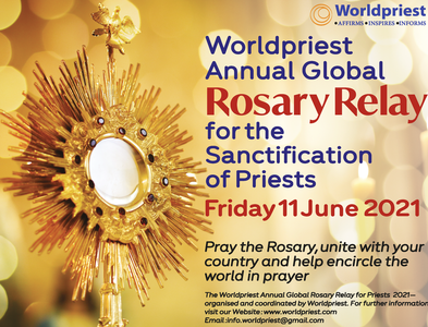Global Rosary Relay for Priests