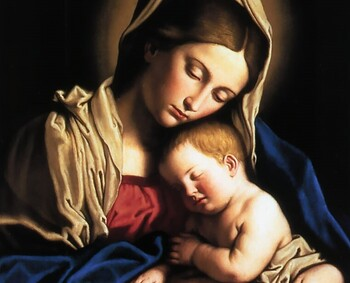 Mass on Solemnity of Mary, Mother of God