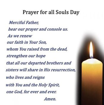 All Soul's Day Candles