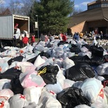 Rosary clothing drive and Boy Scout Food Drive
