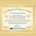 Thank you from Food for the Poor
