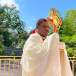 Blessed Sacrament procession in Nanpol