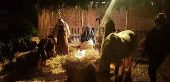 A Special Live Nativity in Basking Ridge
