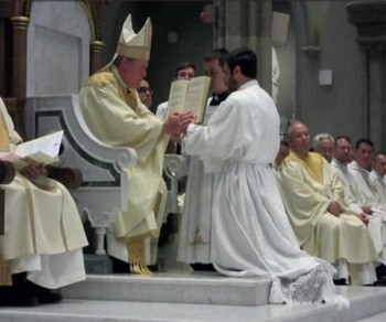 Steve Delia ordained to the Deaconate