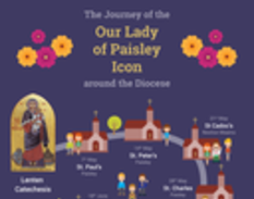 Our Lady Of Paisley Icon