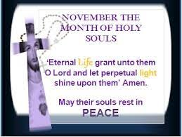 Holy Souls and Annual Bereavement Masses