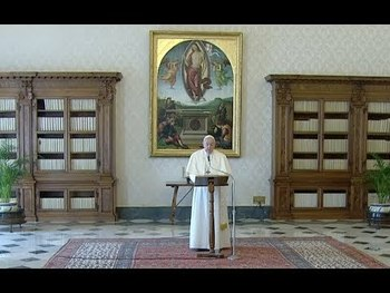 "PRAYING THE ""OUR FATHER"" WITH POPE FRANCIS"