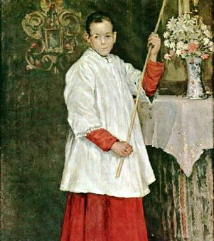 2017 Altar Server of the Year