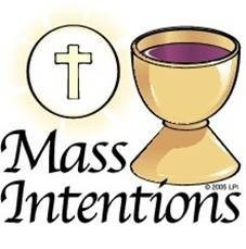 2019 Mass Intentions and Devotional Candles