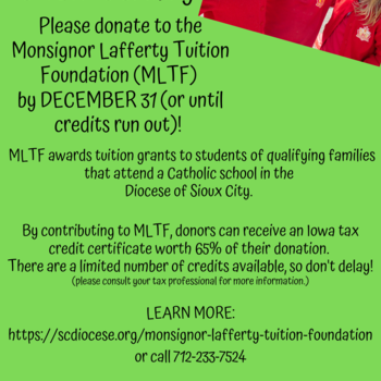 The Monsignor Lafferty Tuition Foundation