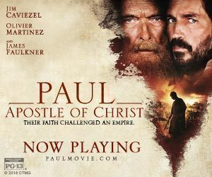 PAUL, APOSTLE OF CHRIST @ Cherokee