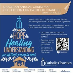 CATHOLIC CHARITIES COLLECTION: DECEMBER 24-25