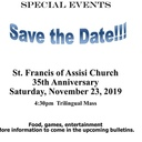 St. Francis of Assisi Church 35th Anniversary Trilingual Mass