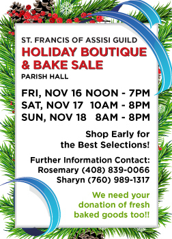 Holiday Boutique & Bake Sale