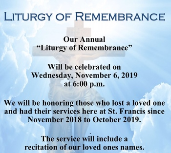 Liturgy of Remembrance