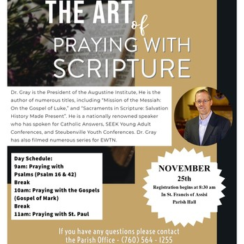 The Art of Praying with Scripture