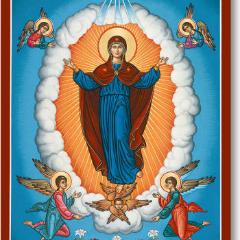 Holy Day Masses: Assumption of Blessed Virgin Mary