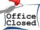Parish Center Offices Closed
