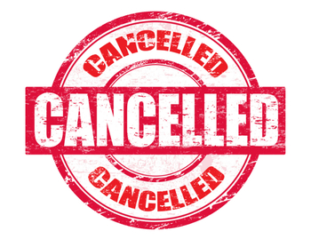 Confirmation I and II CANCELLED!