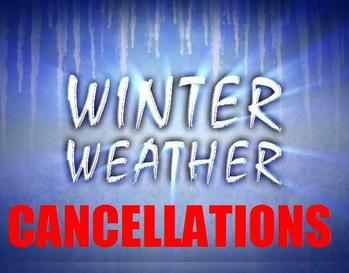 Faith Formation Classes are CANCELLED!