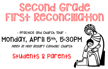 First Reconciliation Practice & Church Tour