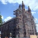 The Cathedral: Restoration Begun with God's Blessing