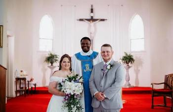 Congratulations to Karly Dzurney and Charles Clark, married June 29, 2019.