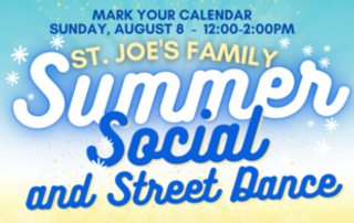 Summer Social and Street Dance - Sunday, August 8 (12:00noon-2:00pm)