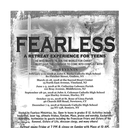 Fearless Retreat for Teens