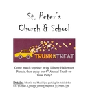 St. Peter's, Liberty-4th Annual Trunk-or-Treat