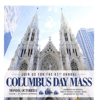 41st Annual Columbus Day Mass