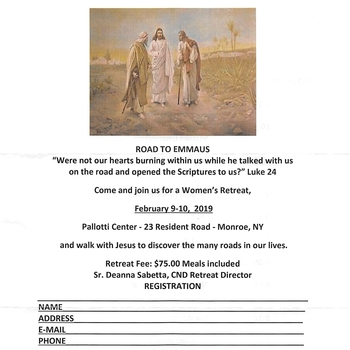 Road to Emmaus Retreat for Women