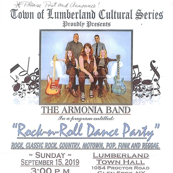 Town of Lumberland Cultural Series-Rock N Roll Dance Party