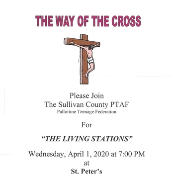 PTAF Living Stations of the Cross