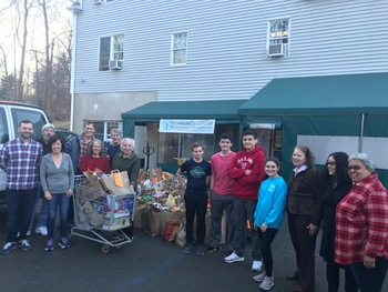 Feeding our Neighbors Food Drive for the Community Center of Northern Westchester