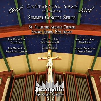 Summmer Organ Concert Series