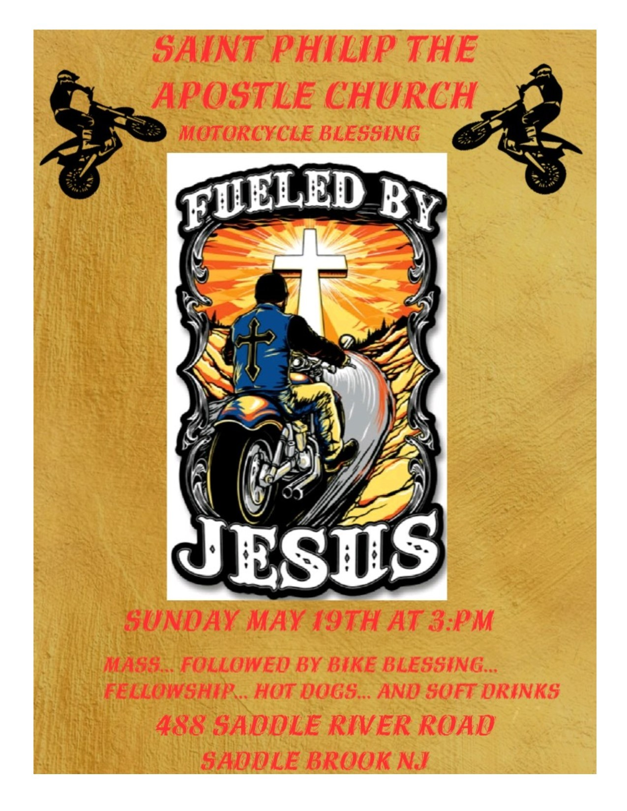 Motorcycle Mass & Blessing
