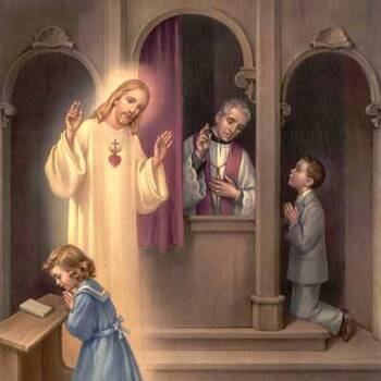 First Penance Service for First Communion Students