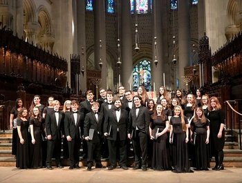 New Jersey's Central Regional High School Choir performance