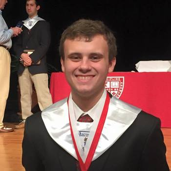 SMCS Alum Named St. Thomas High School Salutatorian