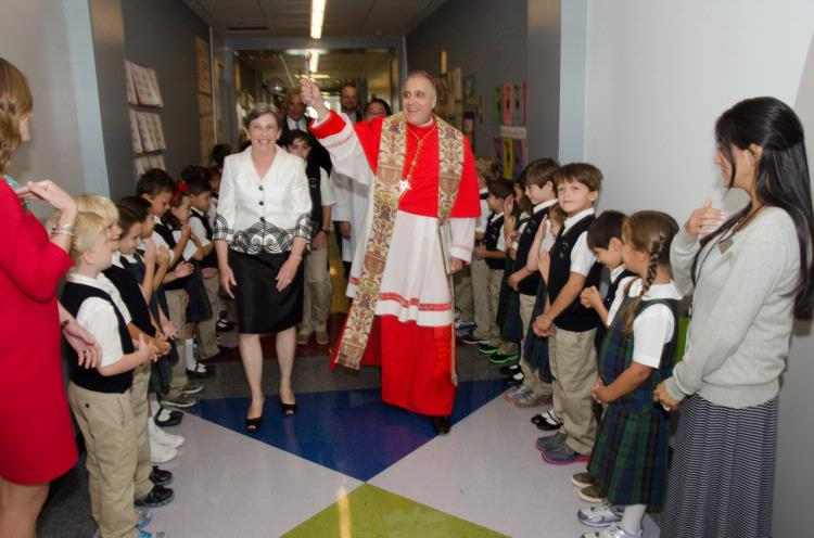 St. Michael Catholic School Celebrates Dedication of new Campus!